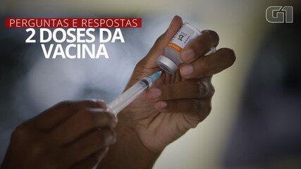 VÍDEO: Veja perguntas e respostas sobre importância da 2ª dose de vacina contra Covid