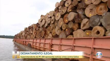 Ministro do Meio Ambiente, Ricardo Salles, é alvo de notícia-crime no STF