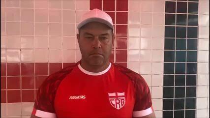 Técnico Roberto Fernandes fala sobre duelo contra o Bahia