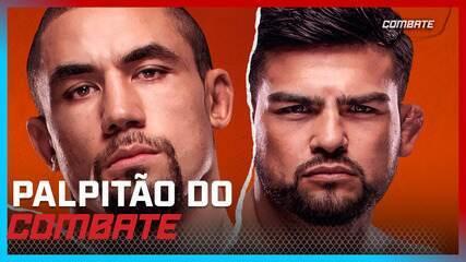UFC Whittaker x Gastelum - Palpitão do Combate