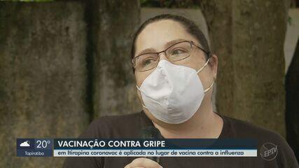 Mãe fala de desespero ao saber que filho recebeu dose contra Covid por engano em Itirapina