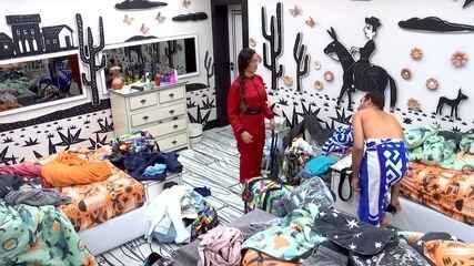 Gilberto diz para Juliette no BBB21: 'Agora a bomba vai estourar'