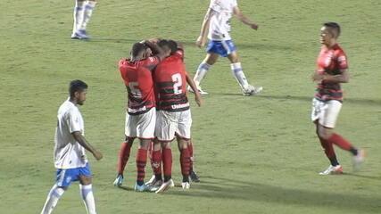 Atlético-GO vence o Crac por 3 a 1; veja os gols