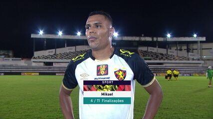 """Mikael comenta chegada de Louzer: """"Feliz pelo gol. Essa dor de cabeça é boa para o treinador"""""""