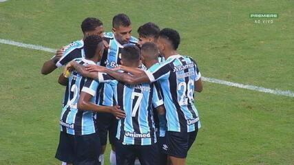 Veja os melhores momentos de Grêmio 3x1 Novo Hamburgo, pela 10ª rodada do Gauchão