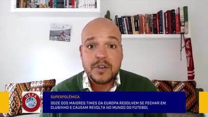 """Fernando Kallás: """"A Superliga não é uma questão esportiva, é muito mais econômica"""""""