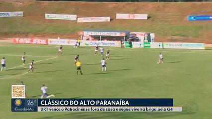 URT vence clássico contra o Patrocinense pela penúltima rodada do Mineiro