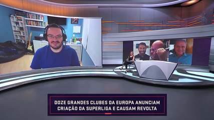 """Rodrigo Capelo, sobre criação da Superliga: """"Eles estão dando um golpe no futebol europeu"""""""