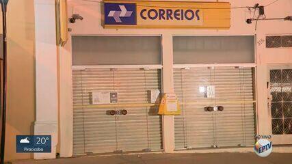 Polícia procura dupla por roubo em agência dos Correios em Morungaba