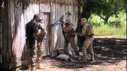 """A Polícia Federal deflagrou a operação """"Caraíba"""""""