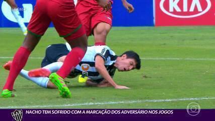 Rei das faltas recebidas, caçada a Nacho pode virar trunfo do Atlético