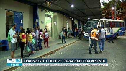 Motoristas da Viação São Miguel iniciam paralisação