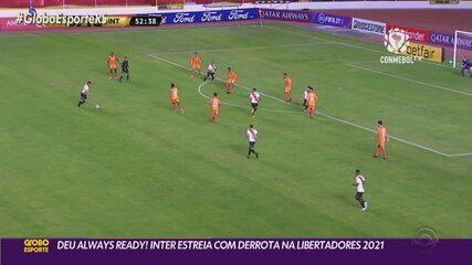 Inter não se dá bem na altitude e perde para o Always Ready na estreia da Libertadores