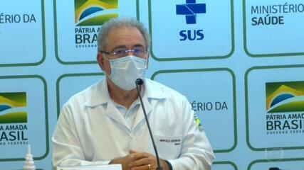 Ministro da Saúde adia de maio para setembro estimativa de conclusão da vacinação de grupos prioritários