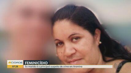 Polícia procura ex-marido de mulher morta a tiros em Aramina, SP