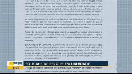 Policiais de Sergipe suspeitos de matar paraibano respondem em liberdade