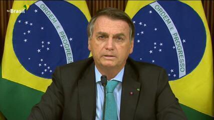 Bolsonaro na Cúpula do Clima: vamos reduzir emissões em 40% até 2030