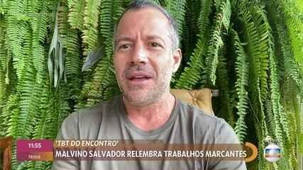 Malvino Salvador comemora estreia de 'Cabocla' no Globoplay