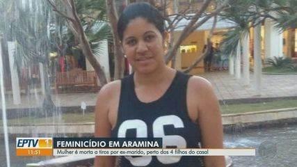Mulher é morta a tiros em Aramina, SP