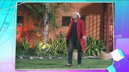 Xuxa foi a primeira famosa a entrar no BBB