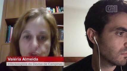 Infectologista de Campinas aponta quando um vacinado contra Covid-19 se torna imunizado