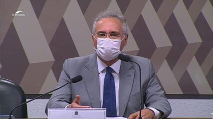 Renan Calheiros sobre CPI: 'Minhas opiniões ou impressões serão subordinadas aos fatos'