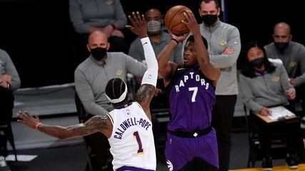 Melhores momentos: Los Angeles Lakers 114 x 121 Toronto Raptors pela NBA