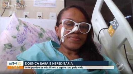 Mãe perde três filhos para doença rara e hereditária; confira história