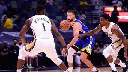 Melhores momentos: New Orleans Pelicans 108 x 123 Golden State Warriors pela NBA
