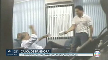 Caixa de Pandora: STF forma maioria para manter condenação de ex-governador Arruda