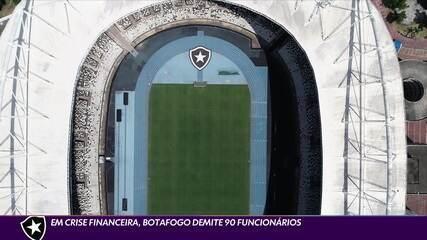 Em crise financeira, Botafogo demite 90 funcionários