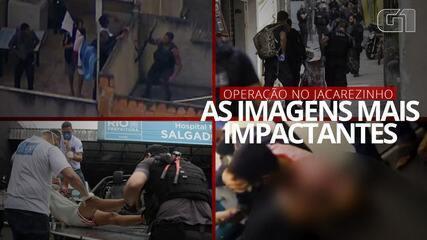 VÍDEO: Veja as imagens mais impactantes da operação policial no Rio