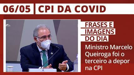 CPI da Covid: Ministro Marcelo Queiroga foi o terceiro a depor na CPI da Covid