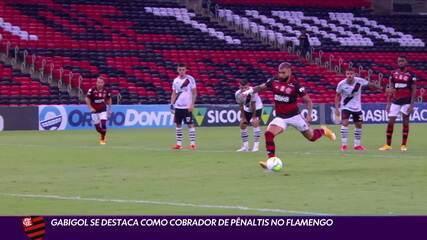 Gabigol se destaca como cobrador de pênaltis no Flamengo