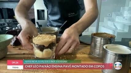 Verrine de Chocolate com Banana