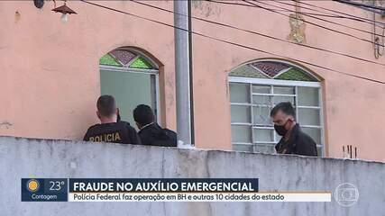 Polícia Federal realiza operação para combater fraudes no Auxílio Emergencial em Minas