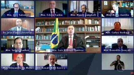 Ministro Barroso diz que urna eletrônica garante eleições seguras e transparentes