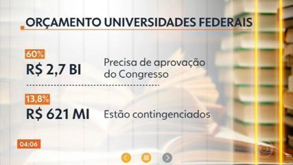 Universidades federais recebem repasse de verbas menor pelo 5º ano seguido