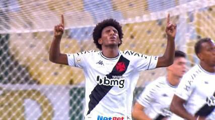 Veja lances de Talles com a camisa do Vasco