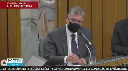 CPI dos Fura-Filas: ex-secretário de Saúde de MG nega fraude na vacinação dos servidores