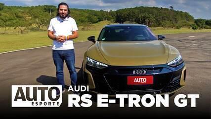 Como é acelerar o Audi RS e-tron GT, o superesportivo elétrico com alma de Porsche