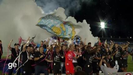 Paysandu 4 x 1 Tuna Luso: assista aos gols do título estadual do Papão