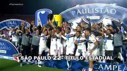 Gols do Fantástico: São Paulo vence o Palmeiras e conquista Paulistão