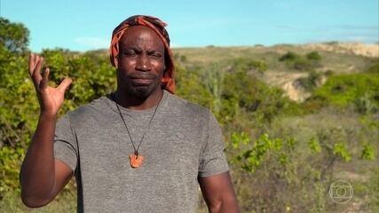 Zulu é o primeiro a desistir da prova