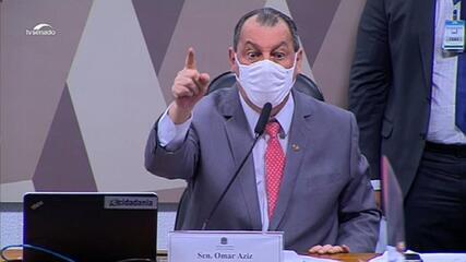 Aziz para Eduardo Girão: 'Vossa Excelência é um oportunista'