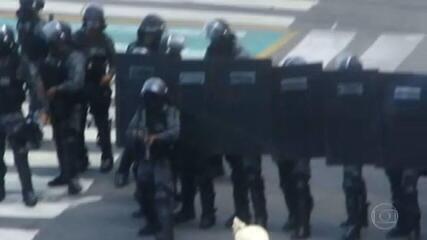 Após ação violenta no Recife, comandante da PM de Pernambuco foi exonerado pelo governador, nesta terça (1º)