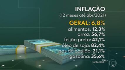 Inflação atual atinge produtos e serviços essenciais, difíceis de cortar ou substituir