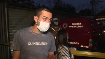 """""""Foi uma coisa muito rápida"""", diz morador que ajudou no socorro em Rio das Pedras"""