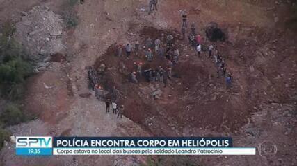 Polícia encontra corpo em Heliópolis