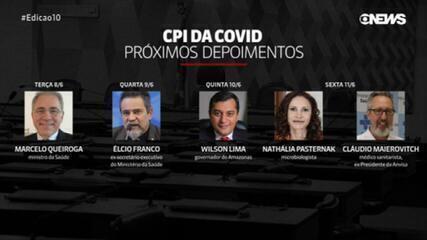 Marcelo Queiroga volta a prestar depoimento na CPI da Covid